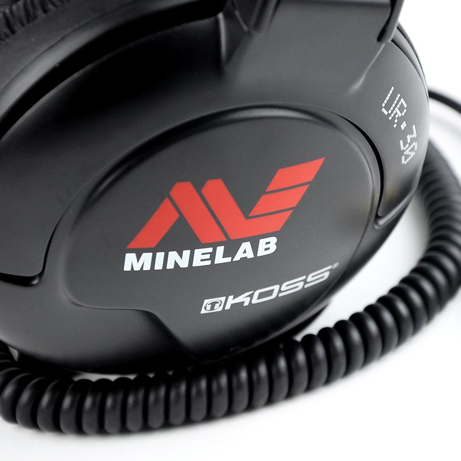 Fones de ouvido Koss UR-30 Minelab   - Fortuna Detectores de Metais