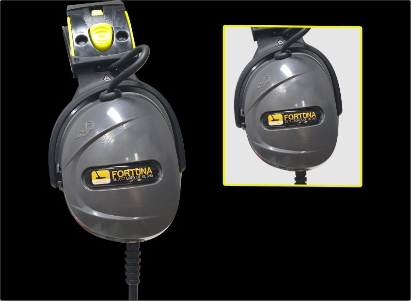 FONES DE OUVIDO SUBMERSÍVEIS RADIOACTIVE PARA CTX 3030  - Fortuna Detectores de Metais