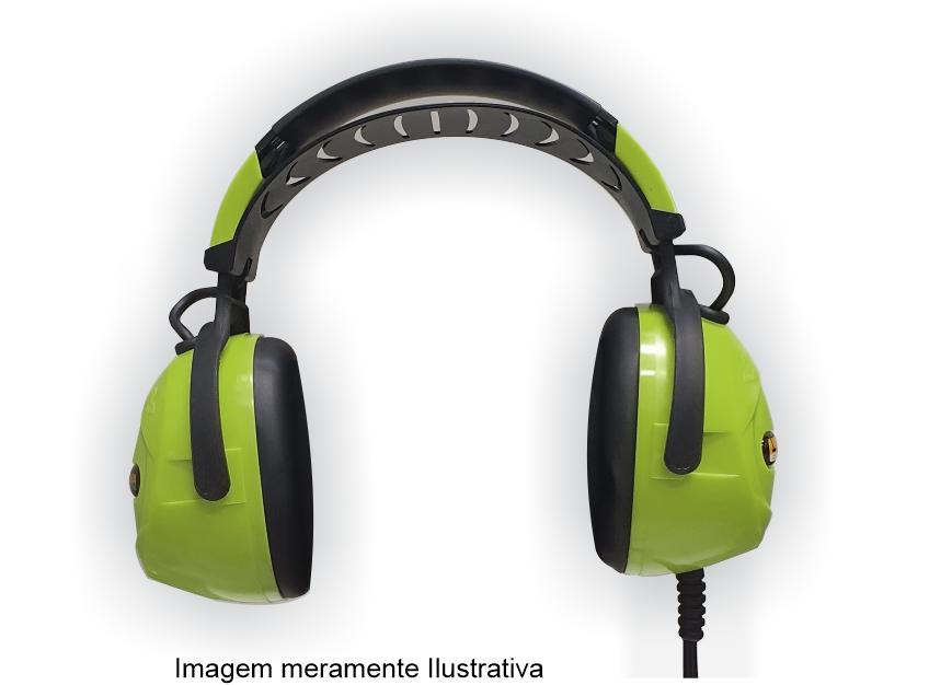 FONES DE OUVIDO SUBMERSÍVEIS RADIOACTIVE PARA EQUINOX - VERDE LIMÃO  - Fortuna Detectores de Metais