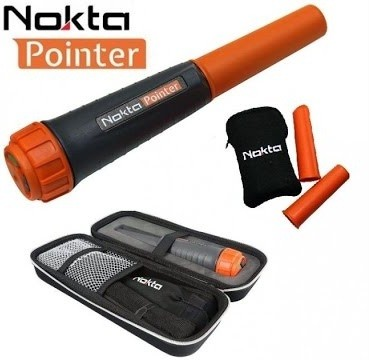 Localizador (Pinpointer) Nokta Pointer  - Fortuna Detectores de Metais