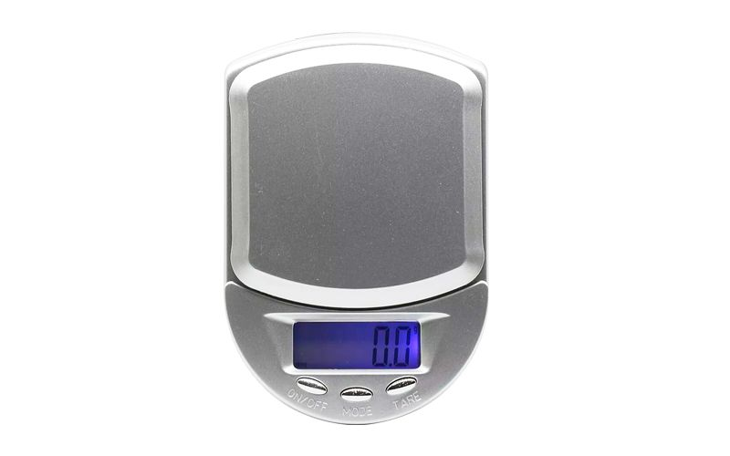 Mini balança com precisão de 0,1g - Pesa de 0,5g á 500g  - Fortuna Detectores de Metais