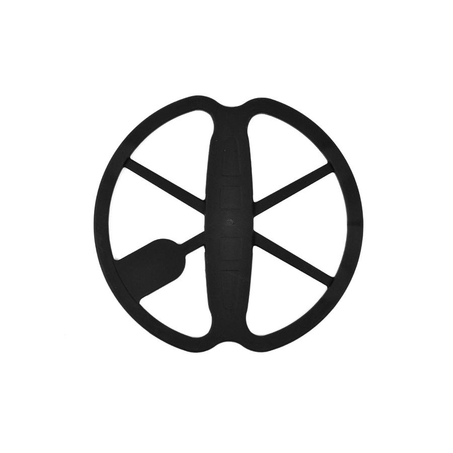 """Protetor de Bobina Minelab preto de 11"""" para Safari, E-TRAC, CTX 3030, Quattro e Explorer"""