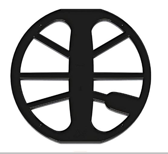 """Protetor de Bobina Minelab preto de 11"""" Equinox  - Fortuna Detectores de Metais"""