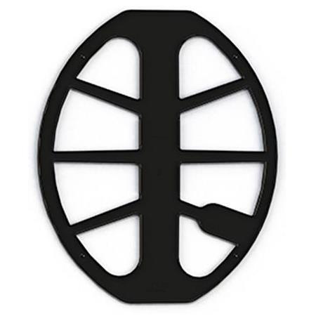 """Protetor de Bobina Minelab Preto de 15x12"""" Equinox"""