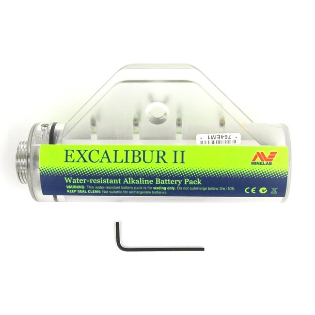Suporte de pilhas Minelab para Excalibur  - Fortuna Detectores de Metais