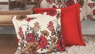 Capa Para Almofada lisa/estampada  - Rose Jordão