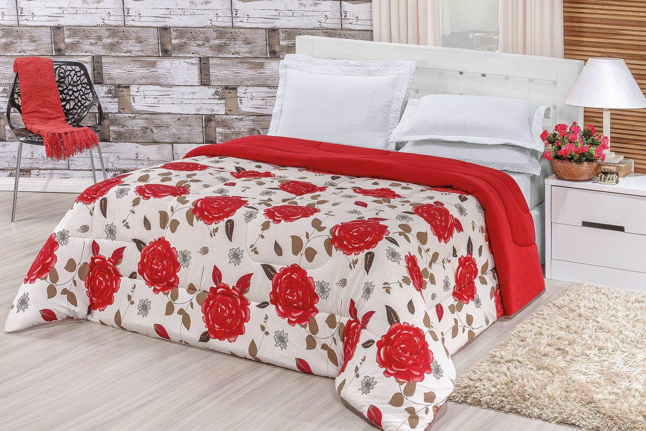 Edredom de Malha 100% algodão Casal Queen   - Rose Jordão