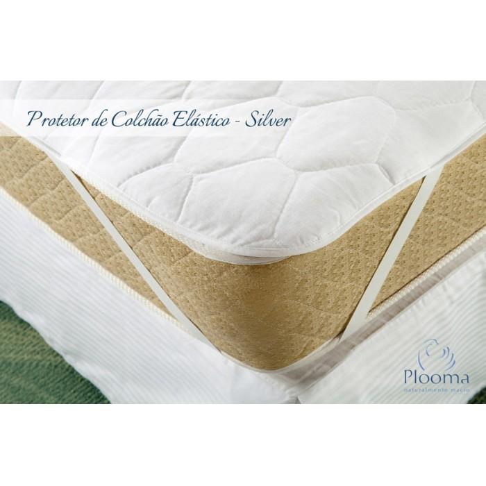 Capa protetora Para Colchão Silver com Elástico Normal - Plooma  - TESTANI CASA