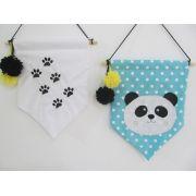 Flâmula Panda - 2 peças