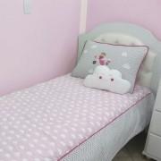 Kit cama de solteiro 3 peças - Urso aviador