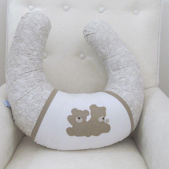 Almofada de amamentação -  Irmão Urso  - Gatinhando Quarto dos Sonhos