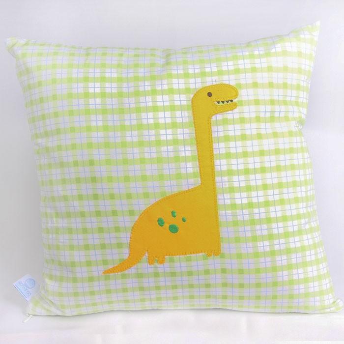 Almofada decorativa Dino  - Gatinhando Quarto dos Sonhos