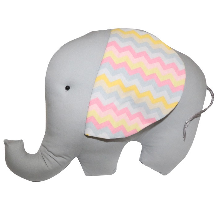 Almofada Decorativa Elefante  - Gatinhando Quarto dos Sonhos