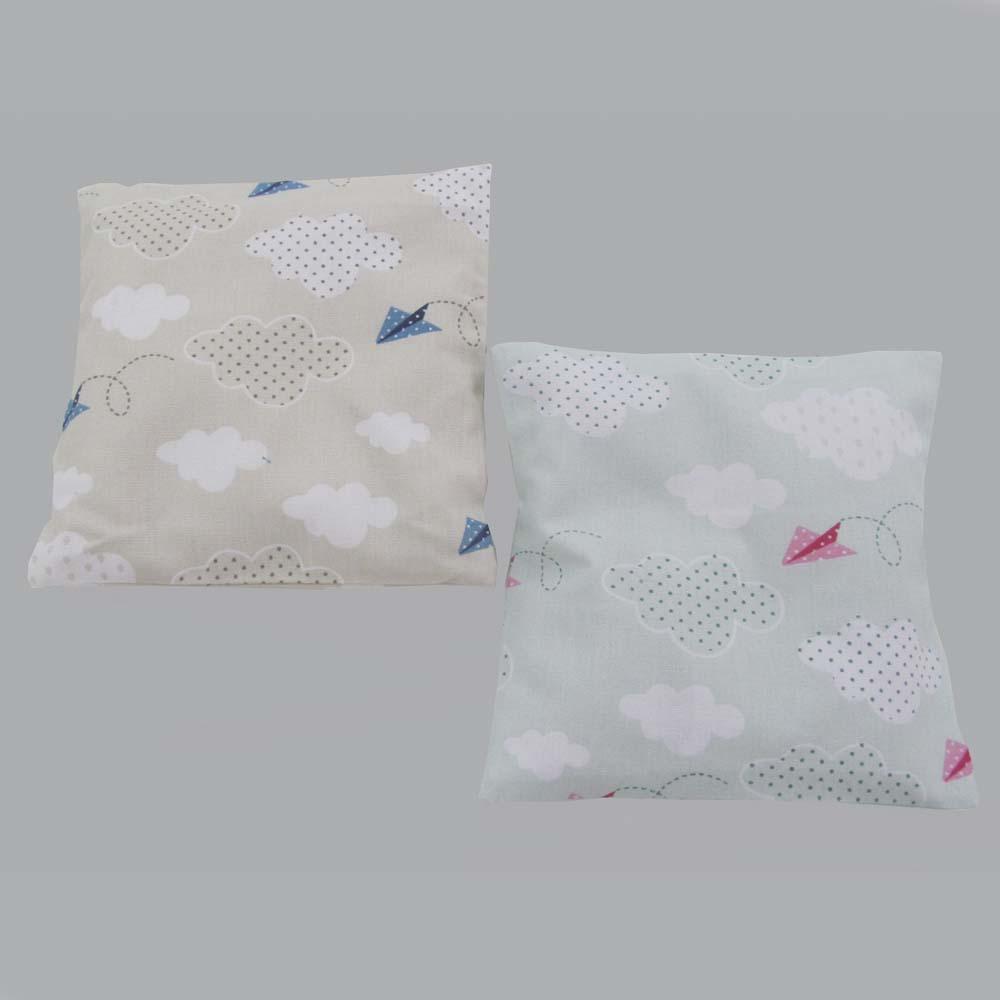 Almofada Térmica avião de papel  - Gatinhando Quarto dos Sonhos