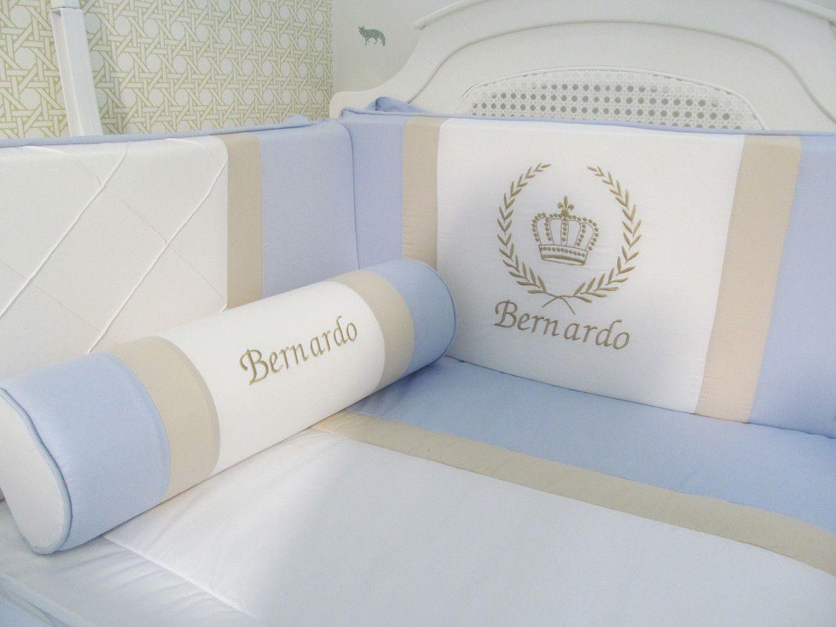 Kit berço Bernardo - 9 peças  - Gatinhando Quarto dos Sonhos