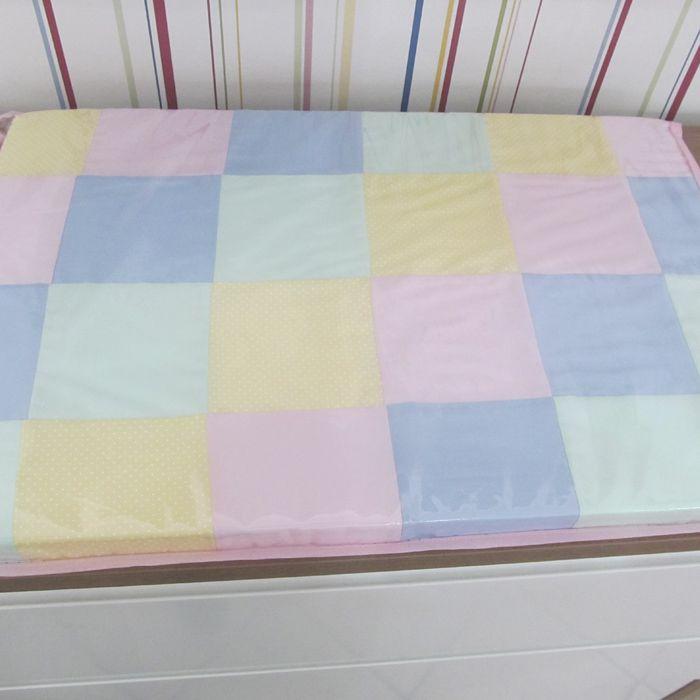 Kit berço Candy color II- 11 peças  - Gatinhando Quarto dos Sonhos