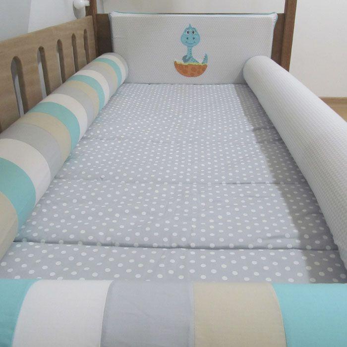 Kit cama solteiro montessoriano - 4 peças  - Gatinhando Quarto dos Sonhos