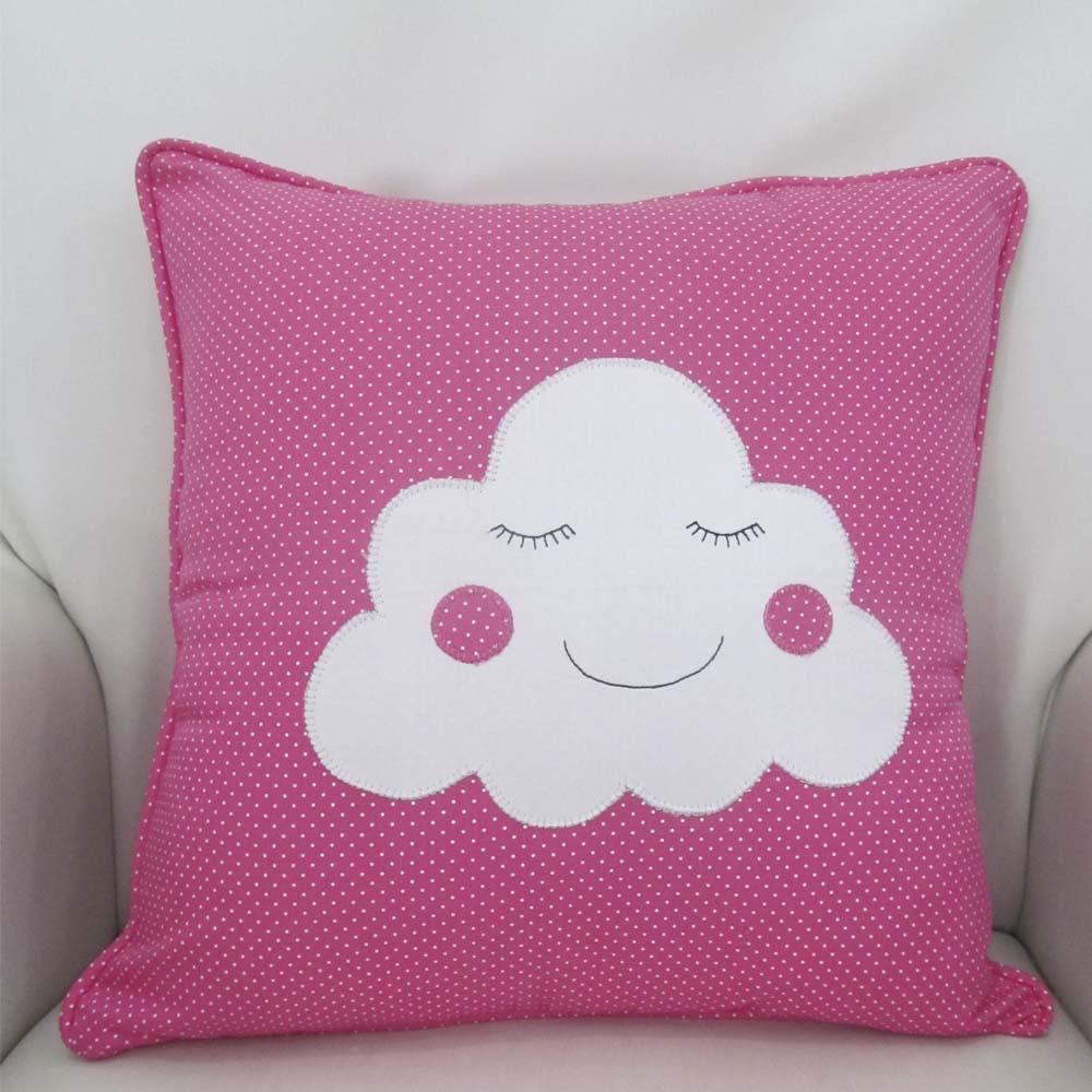 Almofada nuvem 40 cm X 40 cm  - Gatinhando Quarto dos Sonhos