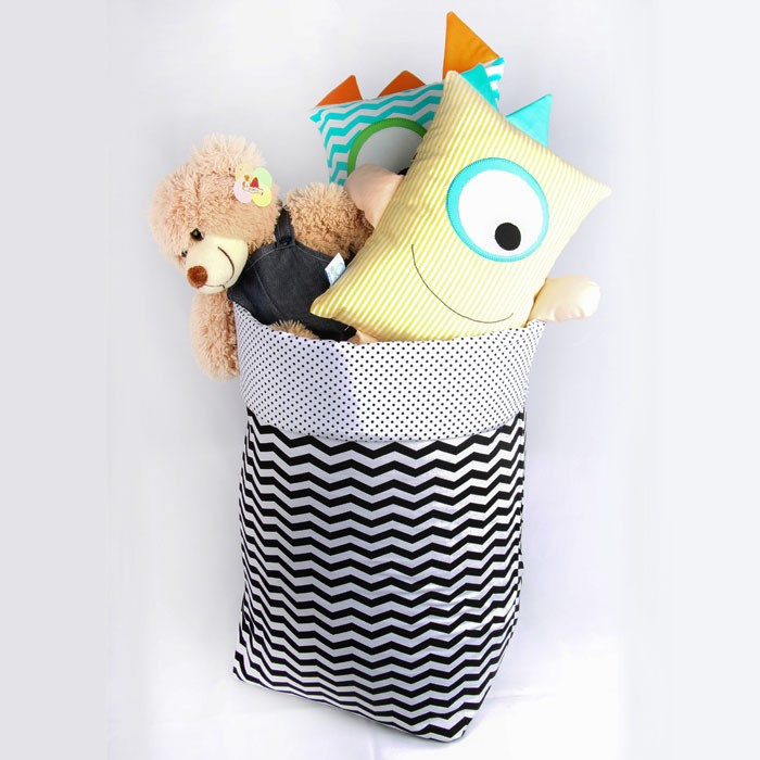 Saco organizador de brinquedos   - Gatinhando Quarto dos Sonhos