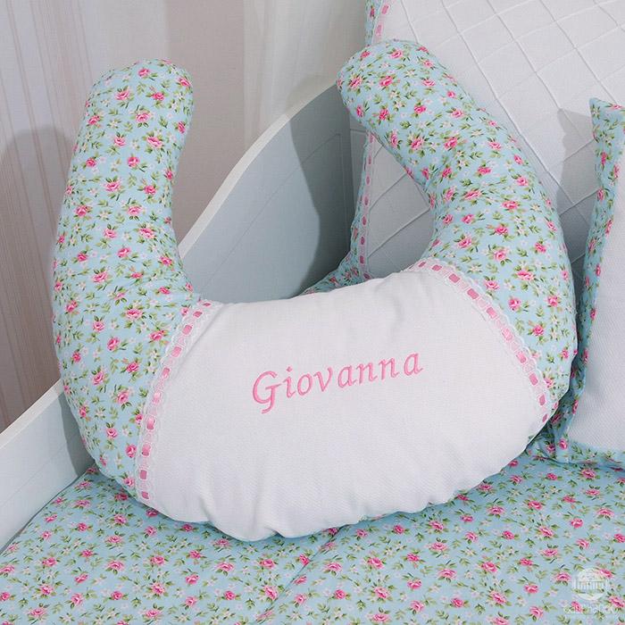 Almofada de amamentação Princesa Ursa  - Gatinhando Quarto dos Sonhos