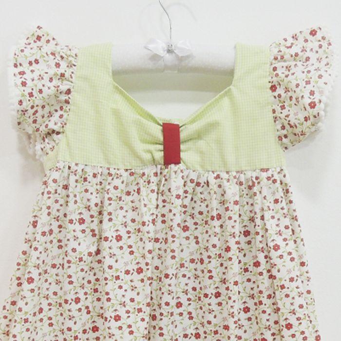 Vestido Carlota   - Gatinhando Quarto dos Sonhos