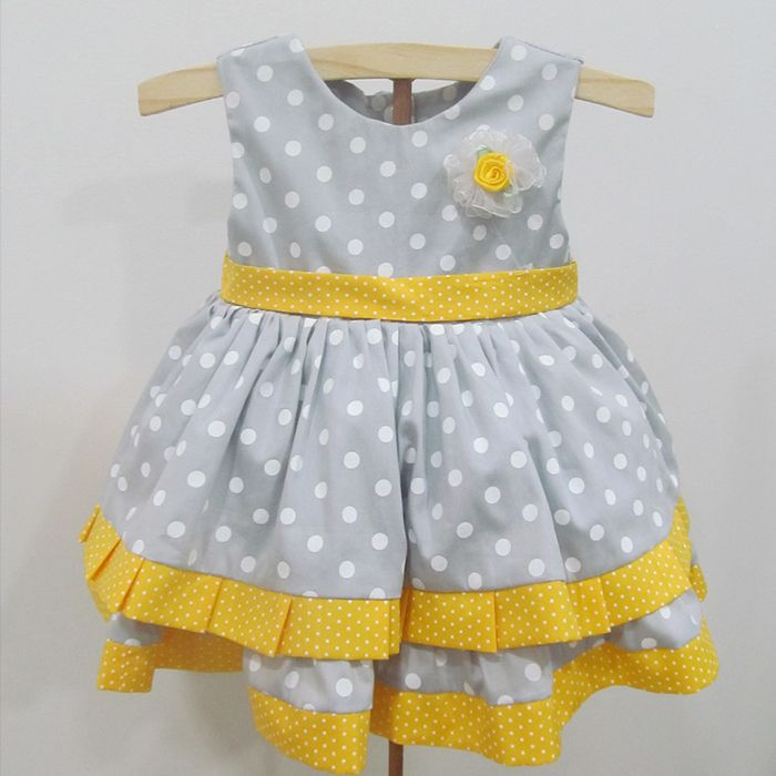 Vestido Luna   - Gatinhando Quarto dos Sonhos