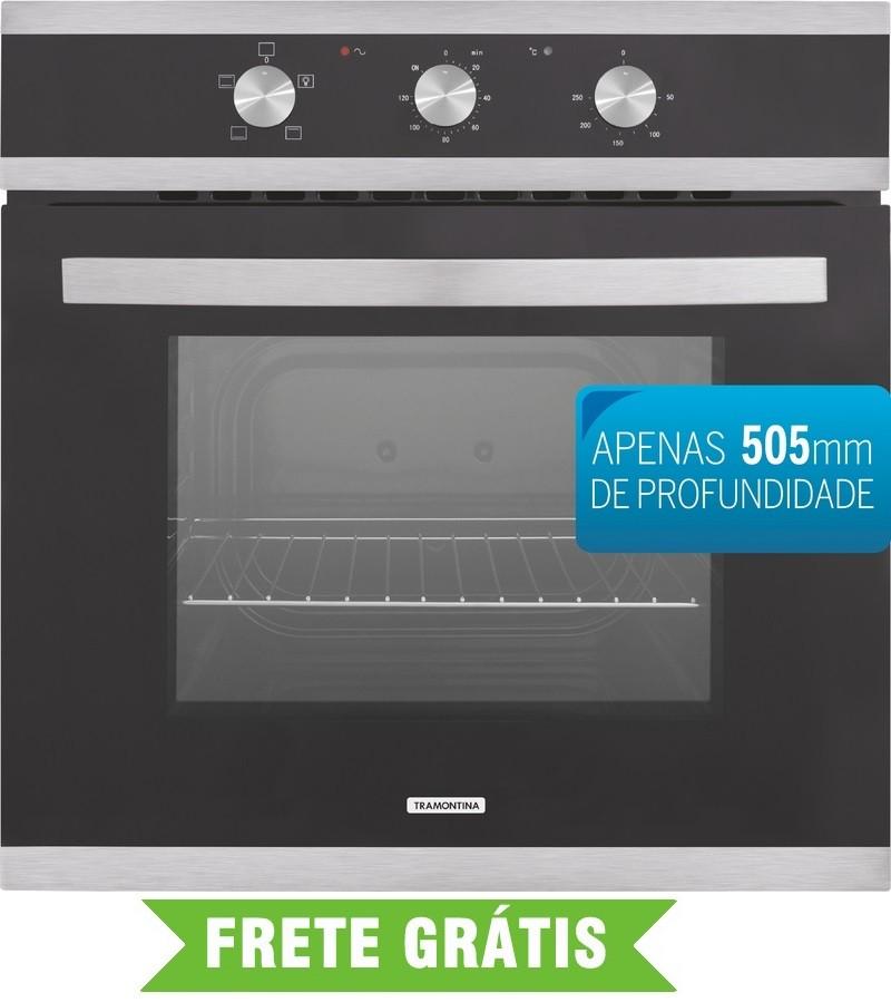 Forno Elétrico Tramontina Glass Brasil 57L B 60 F3 94865/220v