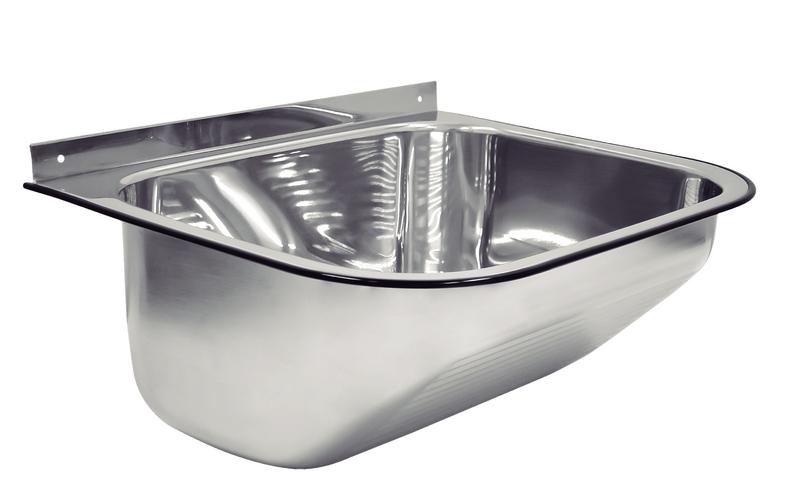Tanque de Parede 27L Aço Inox Polido (Compr. X Larg. X Alt.): 500x 400x 230 mm 94401/407 Tramontina
