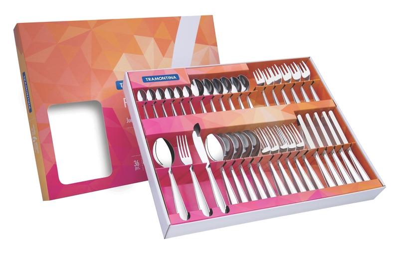 Faqueiro Inox 36 peças Laguna 66906/790 TRAMONTINA