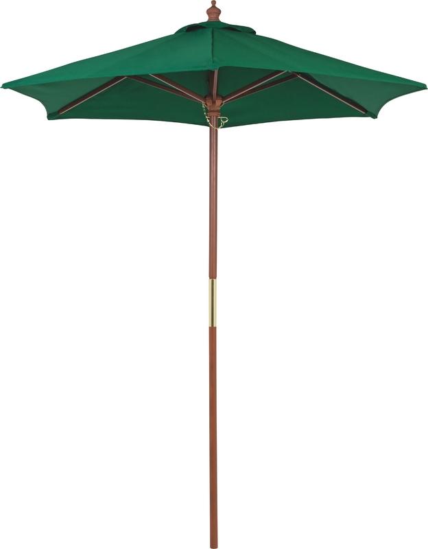 Ombrelone de 1,8 metros Cor Verde c/proteção UV Tramontina 10999/082