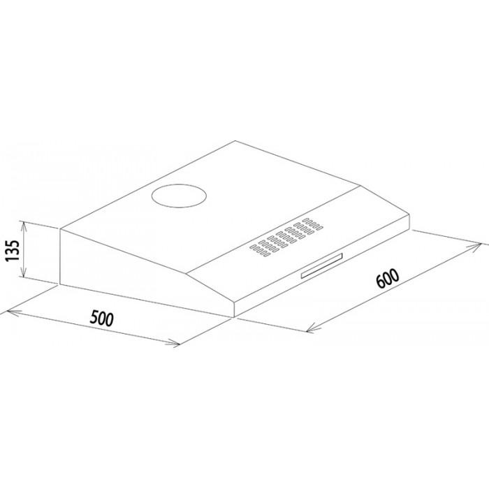 Depurador Aço Inox Compact 60 110V 94810/110 Tramontina
