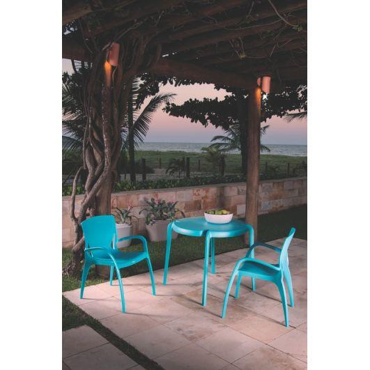 Cadeira Clarice Azul Claro Summa 92040/070 Tramontina