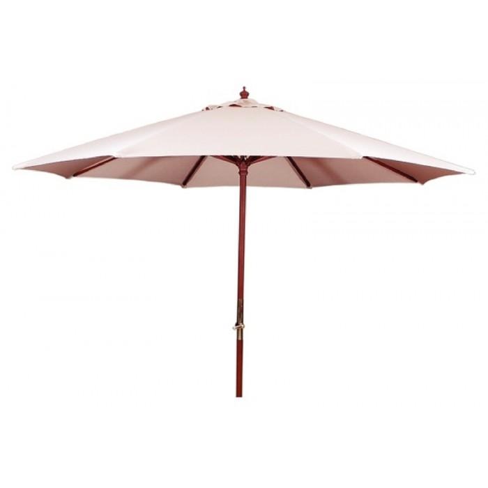 Ombrelone de 3,5 metros Cor Bege c/proteção UV Tramontina 10999/054