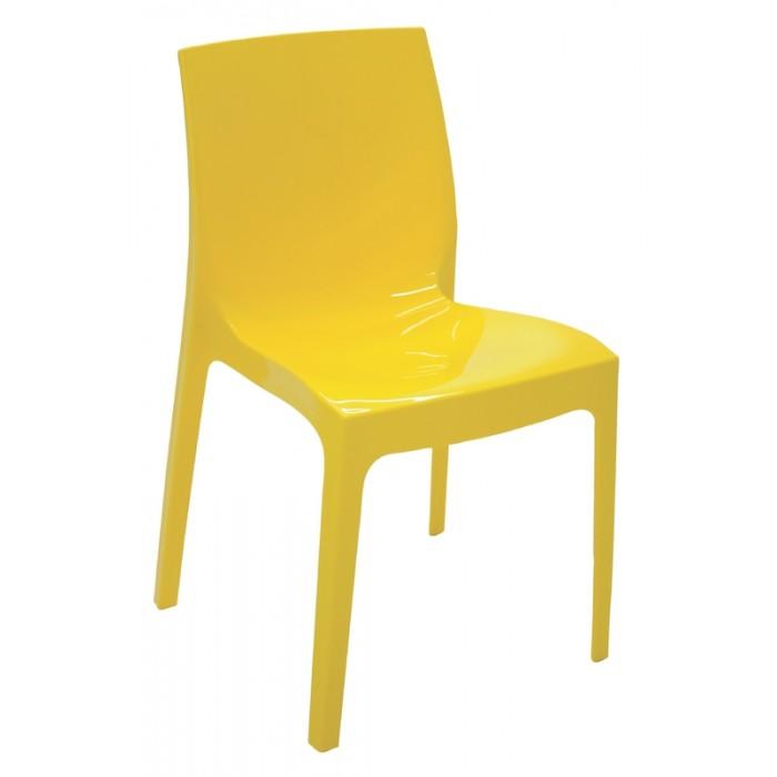 Cadeira ALICE Amarela Tramontina 92037/000