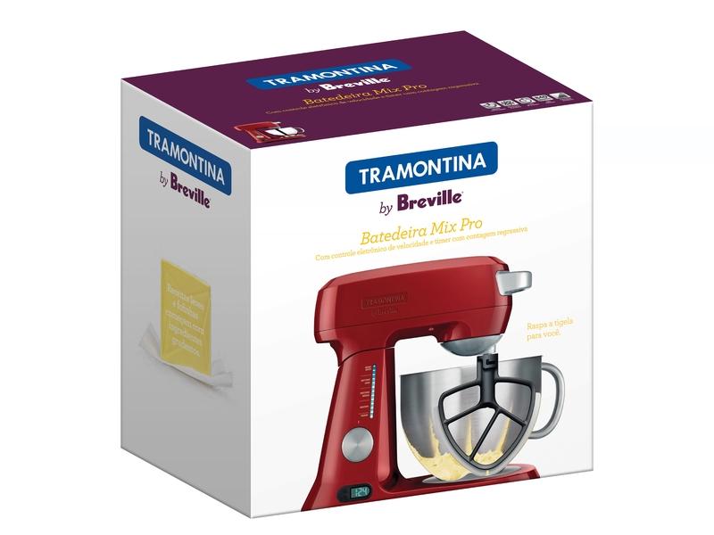 Batedeira Mix Pro Vermelha Tramontina 220v 69015/022