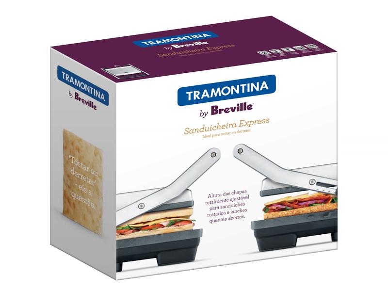 Sanduicheira Express Inox Tramontina 220V 69054/012