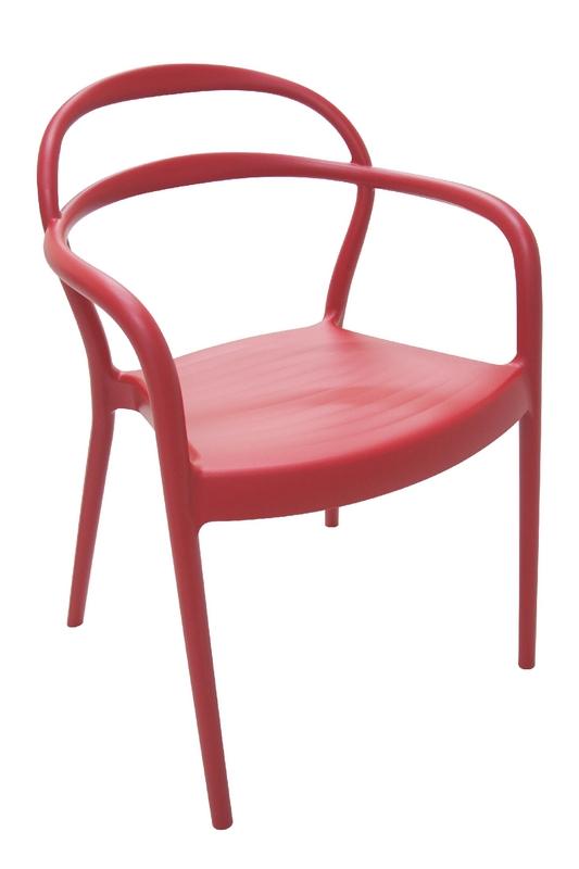 Cadeira Sissi Vermelha Tramontina 92045/040