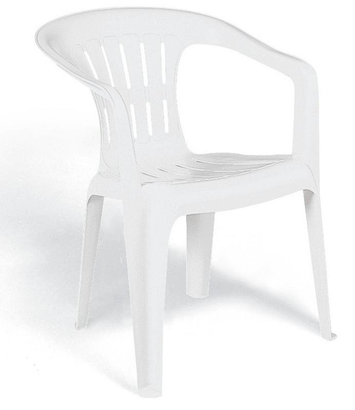 Cadeira Plastica Branca Atalaia 92210/010 Tramontina