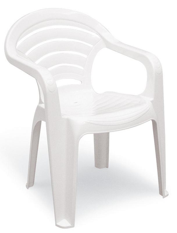 Cadeira Plastica Branca Angra 92212/010 Tramontina