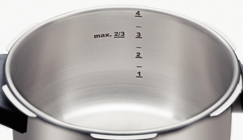 Panela de Pressão sem Cozi-Vapore Ø 22 cm Aço Inox SOLAR 4,5 Litros Tramontina 62513/223