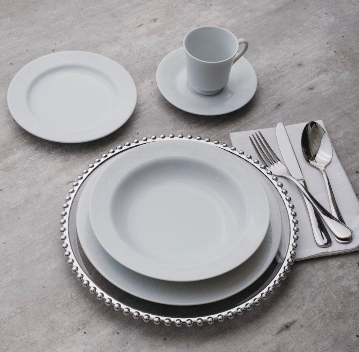 Aparelho De Jantar 20 Peças Noiva Schmidt
