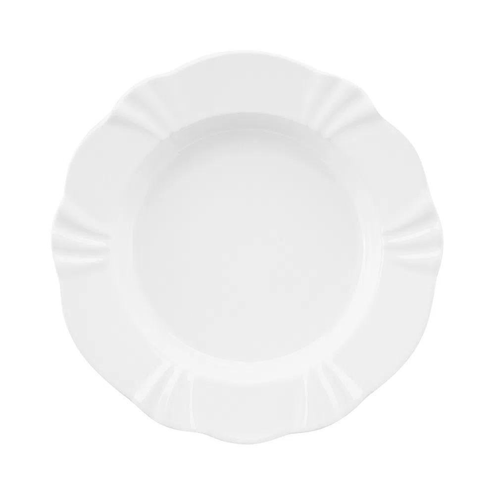 Aparelho De Jantar 20 Peças Soleil White Oxford