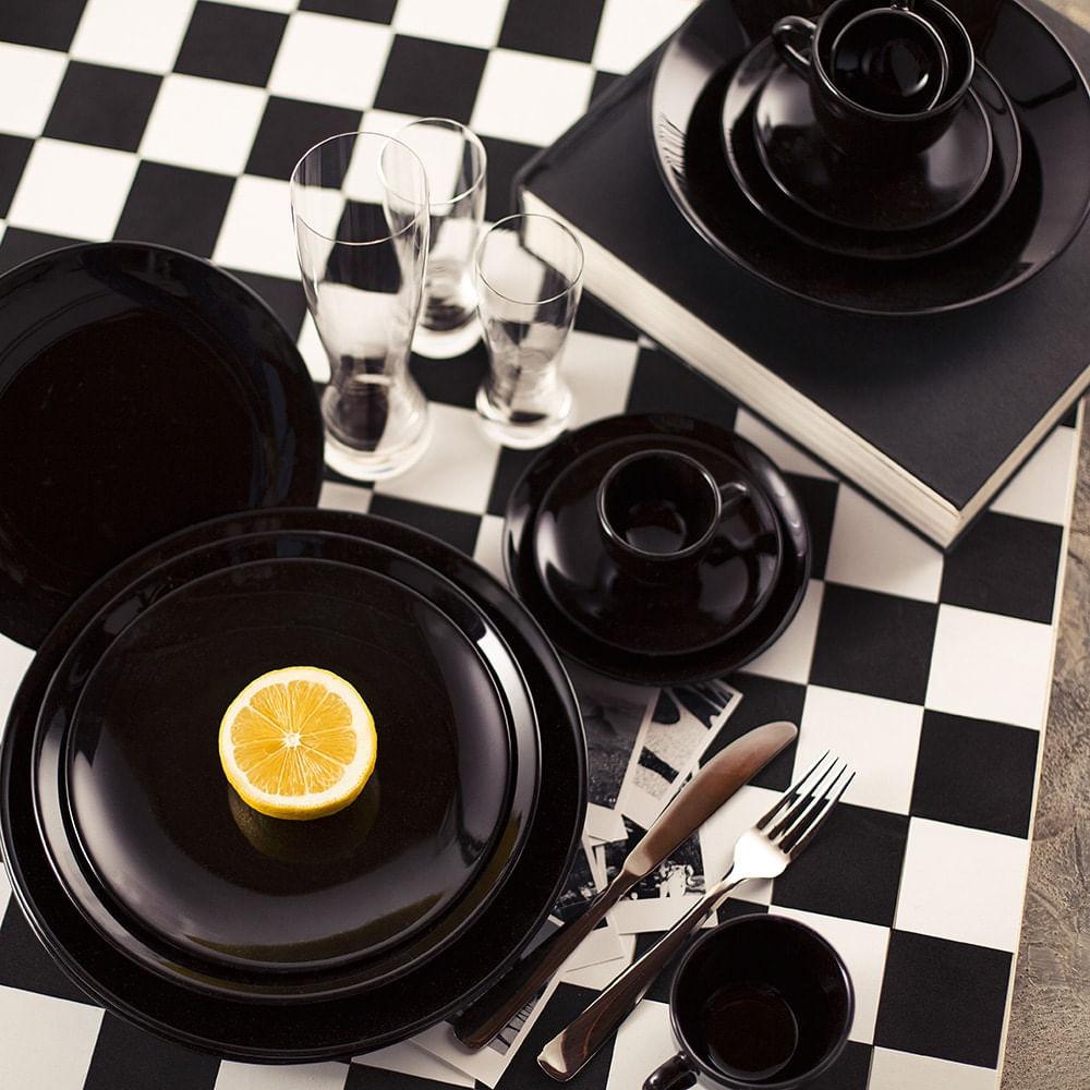 Aparelho de Jantar 30 Peças Coup Black Oxford