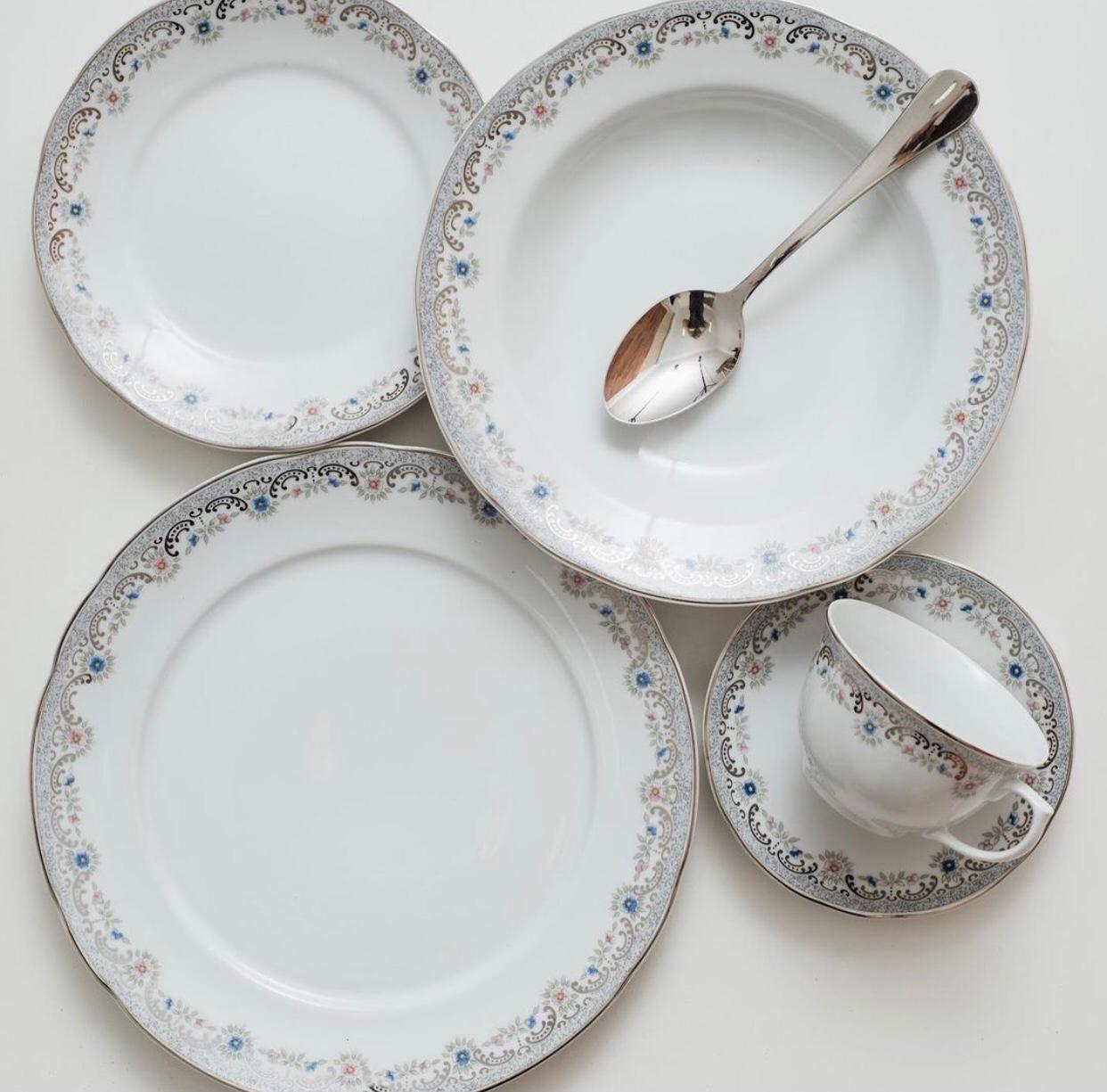 Aparelho De Jantar 30 Peças Saint Germain Schmidt