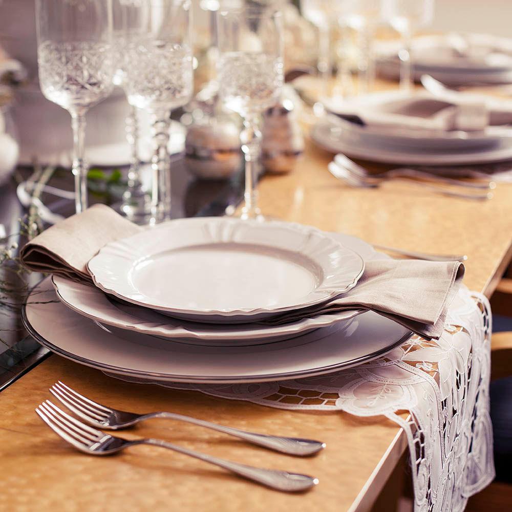 Aparelho de Jantar 30 Peças Soleil Katherine Oxford