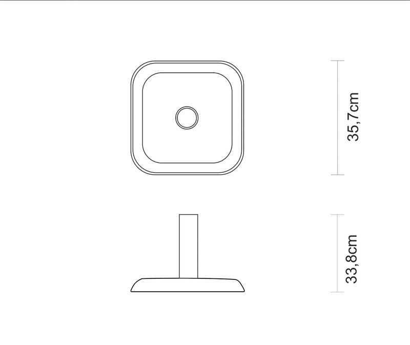 Base de Concreto para Ombrelone 11 kg Tramontina 10999/026