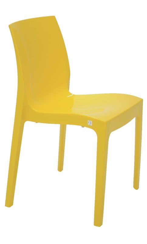 Cadeira Alice Tramontina 92037/000 Amarela