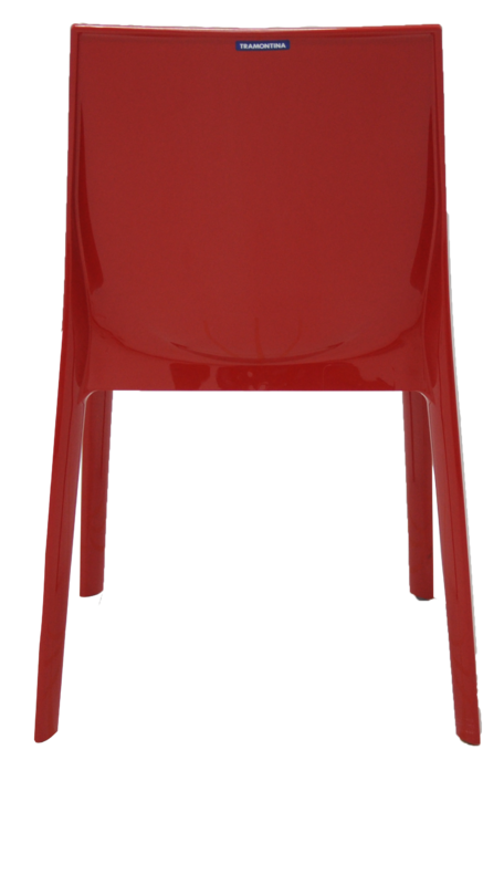 Cadeira ALICE Vermelha Tramontina 92037/040