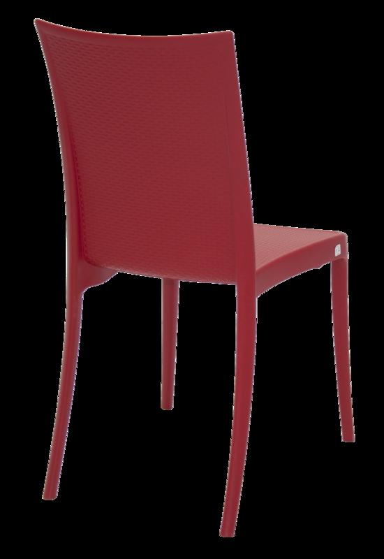 Cadeira Laura Ratan Vermelha 92032/040 Tramontina