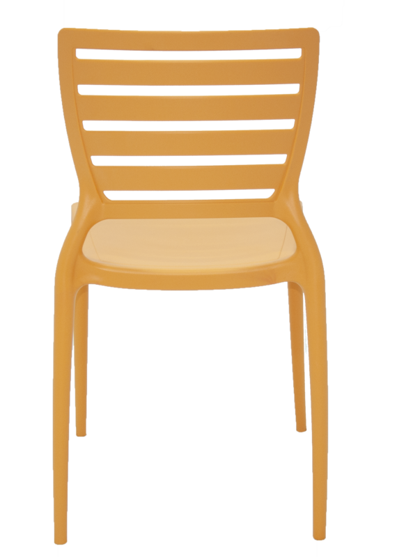 Cadeira Sofia Encosto Vazado Laranja Tramontina 92237/090